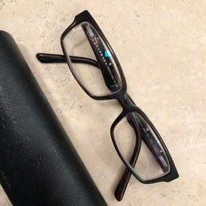 e5aa92a58427 Men s Prada eyeglasses with case